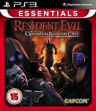 Resident Evil: Operation Raccoon City (ps3) Nuevo Sellado Essentials Gama