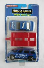 Tootsietoy Goodyear Texaco Set Aero Van Race Car Trailer Hard Body Hitch Ups New