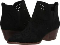 Carlos by Carlos Santana Women's Shoes Victory Fabric Pointed, Black, Size 11.0