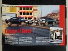 1970 Chevrolet Chevelle SS & Camaro SS Z/28 - 7 Page Article - Free Shipping
