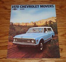 1970 Chevrolet Blazer Sales Brochure 70 Chevy