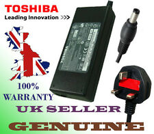 GENUINE TOSHIBA SATELLITE A300D-1DZ 19V 3.95A 75W ADAPTOR POWER SUPPLY +UK CABLE