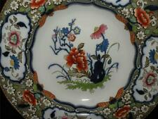 ANTIQUE ENGLISH IRONSTONE MINTON & HOLLINS MINTONS B B NEW STONE JAPANESE PLATE
