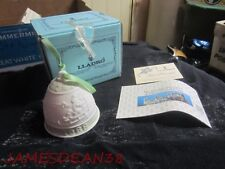 Lladro 1988 2Nd Christmas Bell In Box