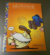 2007 HERITAGE Comics Comic Art Catalog R CRUMB Mr Natural 310 pgs
