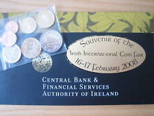 "MDS Irlanda euro-kms 2008, 1 CT. - 2 euro ""Irish International coin Fair"""