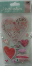 Scrapbooking Jolee's Boutique - Dimensional Stickers - Hearts of Love SPJBLG162