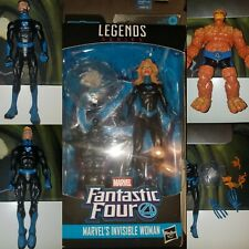 Marvel Legends Fantastic Four Lot- Ben(Thing), Sue, Johnny, Reed and more