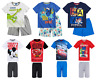 Boys Kids Official Licensed Disney Various Short Sleeve Summer Pyjamas PJs 2-10
