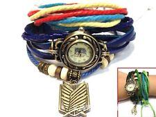 Attack on Titan Scouting Logo Accessory Pu Leather bracelet Wrist Watch Women