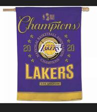 3x5 Lakers Flag AA Plus Shop LA Lakers Team Sports Flag