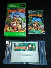 ⭐ SUPER DONKEY KONG NINTENDO SUPER FAMICOM SFC SNES JAPAN JAP NTSC-J 🎌⭐