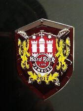 HRC Hard Rock Cafe Hamburg Regional Crest Series Pin 2017, LE 300