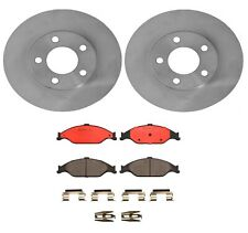 Brembo Front Brake Kit Disc Rotors Ceramic Pads For Ford Mustang GT Base '99-'04