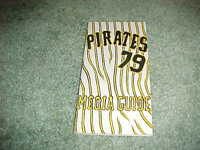 1979 Pittsburgh Pirates Baseball Media Guide Willie Stargell Dave Parker