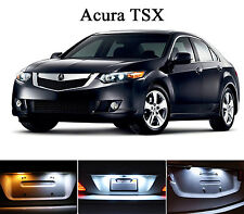 Xenon White License Plate / Tag 168 LED light bulbs for Acura TSX (2 Pcs)