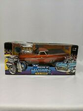 1:18 Muscle Machines Car '59 Chevy El Camino Orange Diecast Model