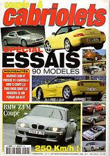 REVUE MAGAZINE COUPES & CABRIOLETS N°11 10/1998 MASERATI PORSCHE BMW Z3 FERRARI