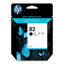 HP 82 69-ml Black DesignJet Ink Cartridge (CH565A) for CH336A CH337A CQ532A