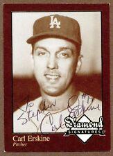 Carl Erskine, MLB Player, Signed Sportscard, COA, UACC RD 036