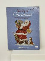 JOY OF CHRISTMAS DESIGNS IN COUNTED CROSS STITCH FOR YOU By Joe Giordano Paragon