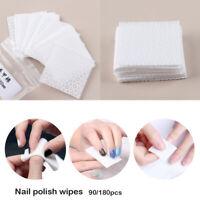 le coton manucure de papier nail art serviette les lingettes de vernis à ongles
