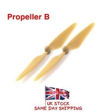 2 x Oro Hubsan X4 senza Spazzole FPV H501S Eliche B Lame H501S-06 Venditore UK