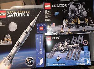 LEGO IDEAS NASA - 10266 - 21309 - 21321 - PACTH - NUOVI, SIGILLATI