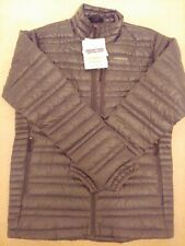 BNWT Small FORGE GREY Patagonia Men's Ultralight Down Jacket S - FREE SHIP!