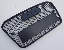Negro Brillante Panal sin Matrícula Rejilla para Audi A5 B8 8T S5 RS5 2012-2015