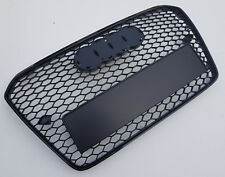 Brillo negro panal badgeless Parrilla Para AUDI A5 B8 8T S5 RS5 2012-2015