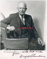 President Dwight D. Eisenhower Autographed Signed 8x10 Photo Reprintv
