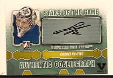 ONDREJ PAVELEC IN THE GAME ITG FINAL VAULT AUTO