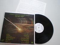 SPAIN PROM0 SYNTH POP LP DEVO, JAPAN, DAF, OMD.. 1982 NM + INSERT Vinyl VINILO