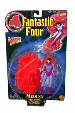 MARVEL FANTASTIC FOUR MEDUSA ACTION FIGUR WITH HAIR SNARE ACTION BASE TOYBIZ