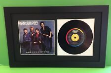 "45 RPM Picture Frame Displays Sleeve & 7"" Vinyl Easy To Switch Out"