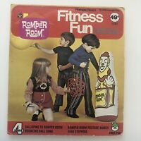 Peter Pan Records ROMPER ROOM Fitness Fun LP Soundtrack Album USA 1970s