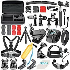 Neewer ® 50 in 1 Kit Di Accessori Per GoPro 4/3 +/3/2/1 sj4000/5000/6000 XiaoMi Yi; K