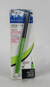 Maybelline Define-a-Line Mechanical Pencil Eyeliner 801 803 805 Choose One