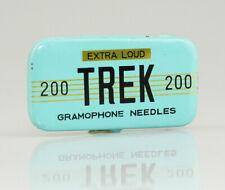 TREK 'Extra Loud' Gramophone Needle Tin, FULL with needles (AA58)