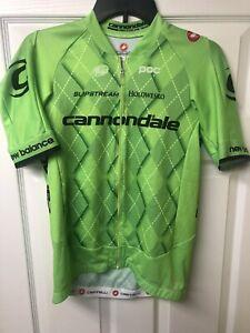 Castelli Cannondale Free AERO AR 5.1 Men's Cycling Jersey Extra Large EUC