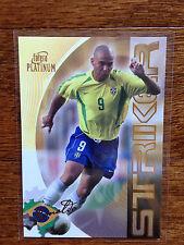 2003 Futera World Football Soccer Card- Brazil RONALDO Mint