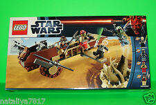 LEGO STAR WARS SET DESERT SKIFF 9496 ### MIT FIGUREN - BOBA FETT - OVP ### =TOP!