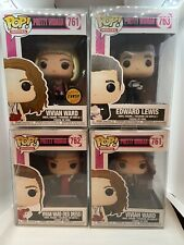 Full Set of Pretty Woman Pop Funko's Including Chase Blonde Wig Limited Edition