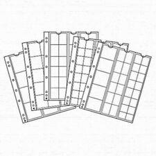 Feuilles Numismatiques OPTIMA - Lot de 5 pochettes - Choix multiples  LEUCHTTURM