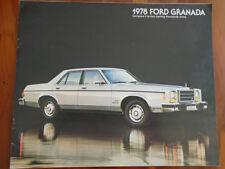 Ford USA Granada brochure 1978