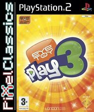 EyeToy: Play 3 for Sony PlayStation 2 PAL (PS3 60GB Compatible) Kids - Complete