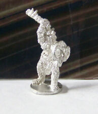 Vintage Dungeons & Dragons Rare Metal Miniature D&D Chainmail Demon Horn Shield