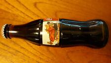 Coca Cola Bottle Full 1997 CHRISTMAS SANTA CLAUS COKE CLASSIC BOTTLE COLLECTABLE