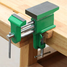 Table Vise cast steel Universal Bench Work Clamp Hand Tools Woodworking Vises Us